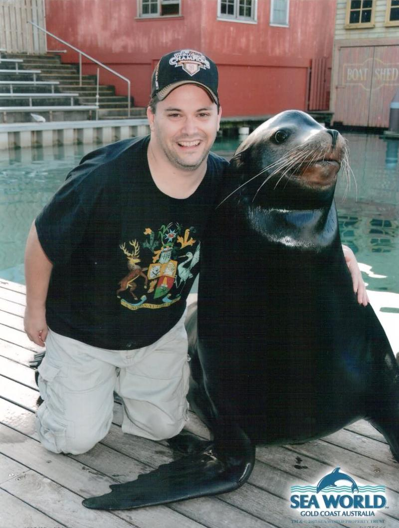 Greg & Mr. Seal