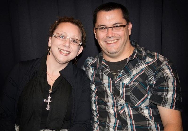 Greg & Jodie @ the Michael Buble Concert
